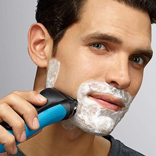 afeitado humedo con afeitadora rasuradora maquinilla recortadora recortador de laminas