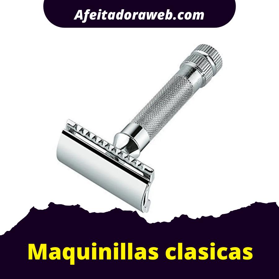 maquinillas de afeitar clasicas